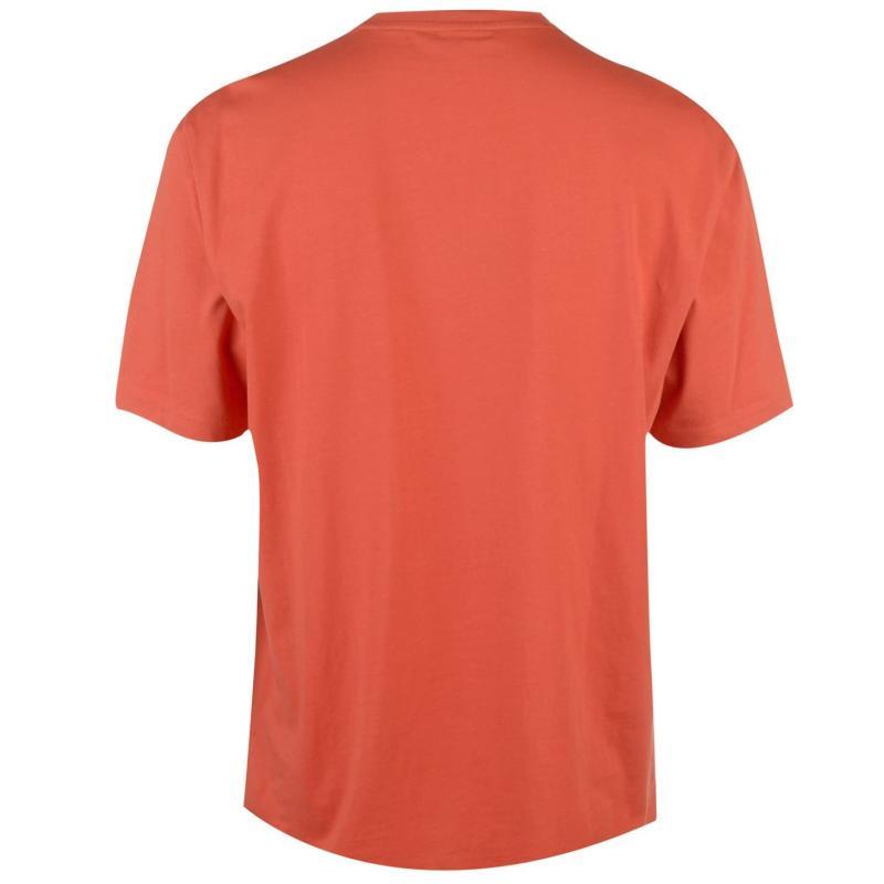 Tričko Slazenger Plain T Shirt Mens Dark Orange