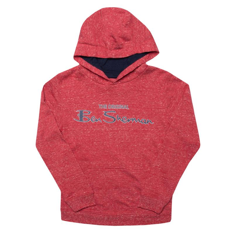 Infant Boys The Original Ben Sherman LB OTH Sweat Red