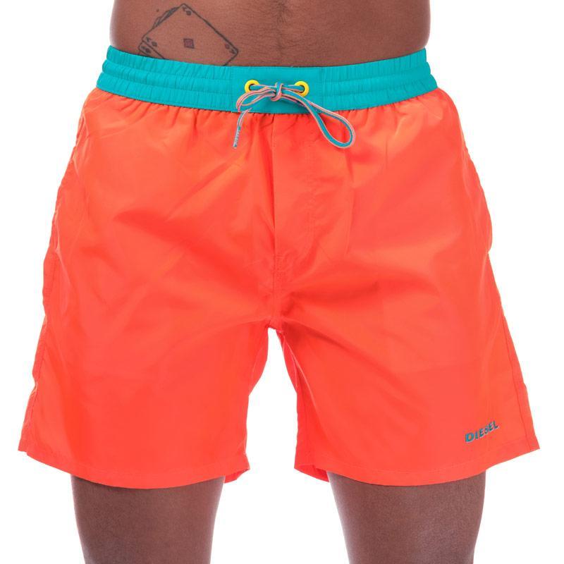 Diesel Mens BMBX 2.017 Swim Shorts Black