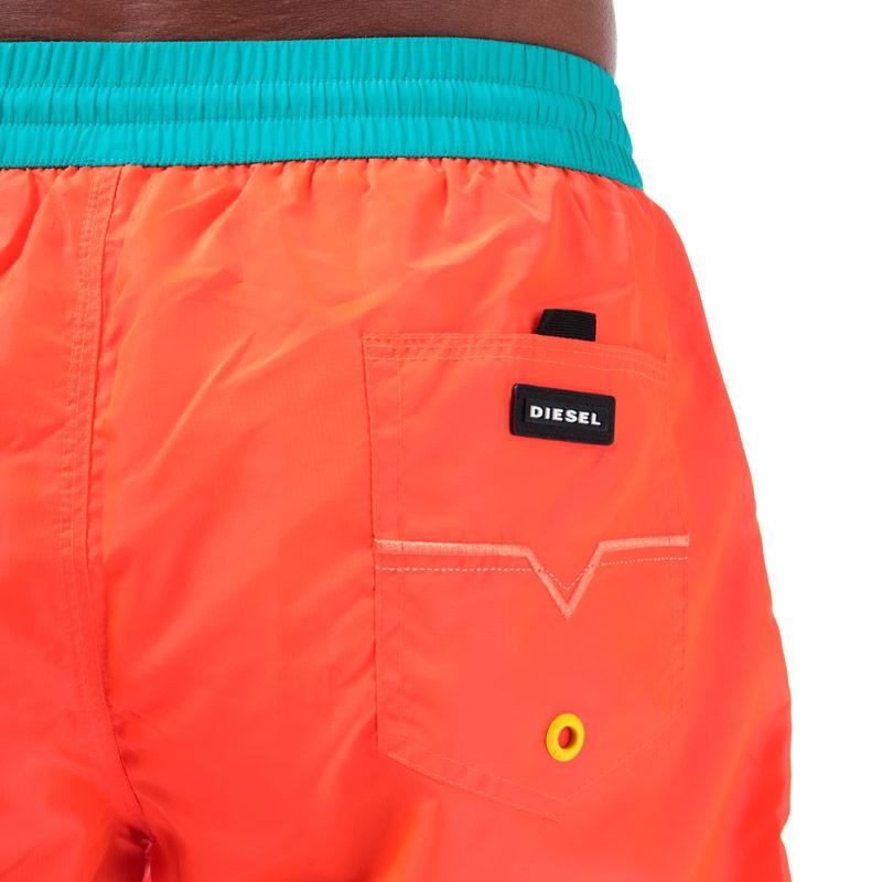 Diesel Mens BMBX 2.017 Swim Shorts Orange