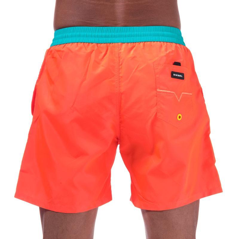 Diesel Mens BMBX 2.017 Swim Shorts Orange