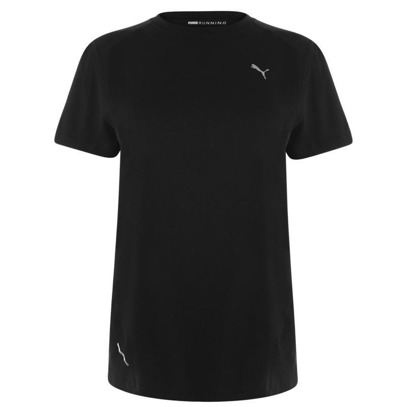 Tričko Puma Ignite Short Sleve T Shirt Ladies Black