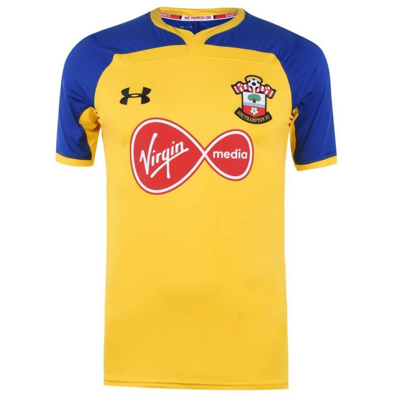 Under Armour Southampton Away Shirt 2018 2019 Yellow