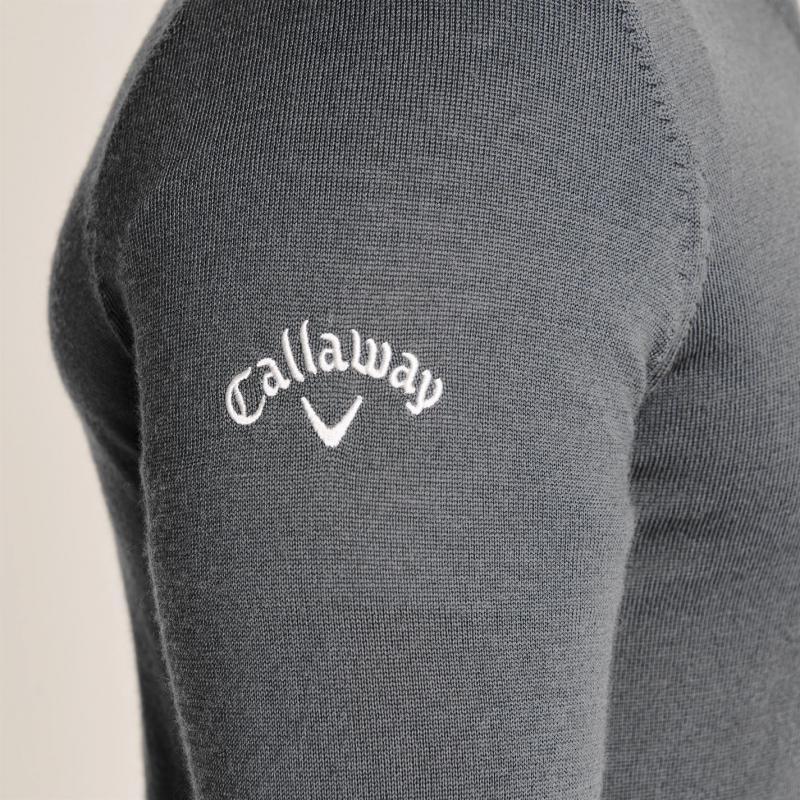 Callaway Knit Jumper Quiet Shade Gre