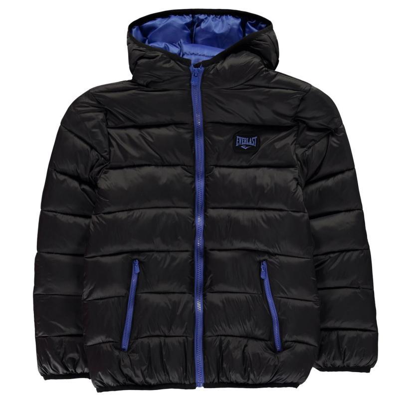 Bunda Everlast BTS Bubble Jacket Junior Boys Black/Roy