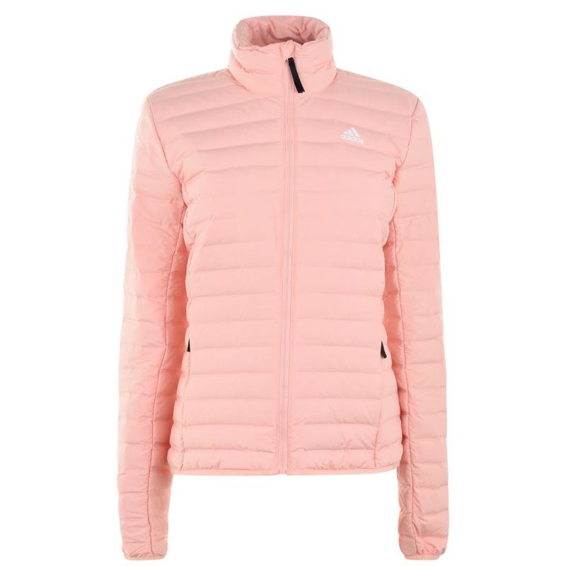Adidas Varilite Down Jacket Ladies Glow Pink
