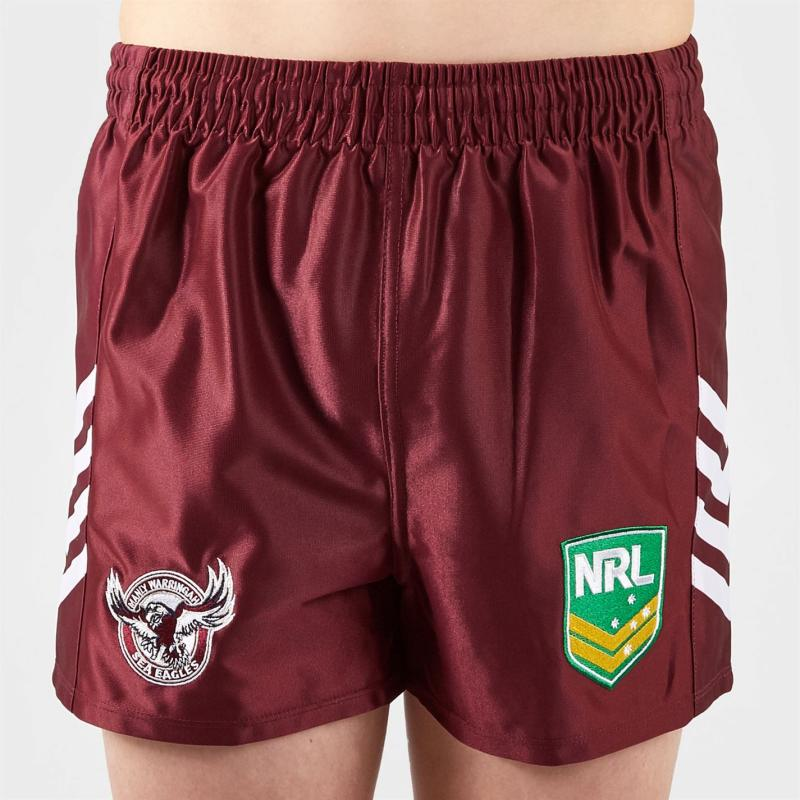 ISC Manly Sea Shrts Maroon