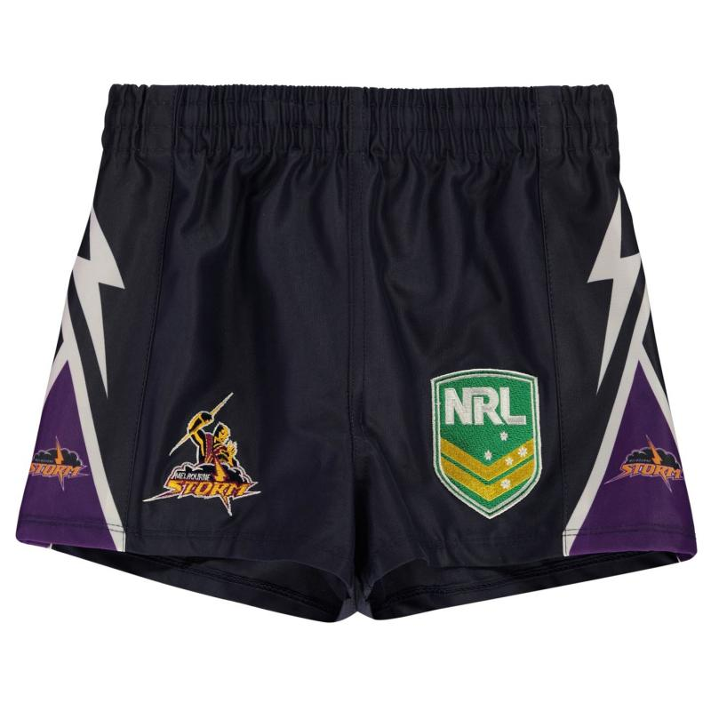 ISC Melbourne Storm Rugby Shorts Navy