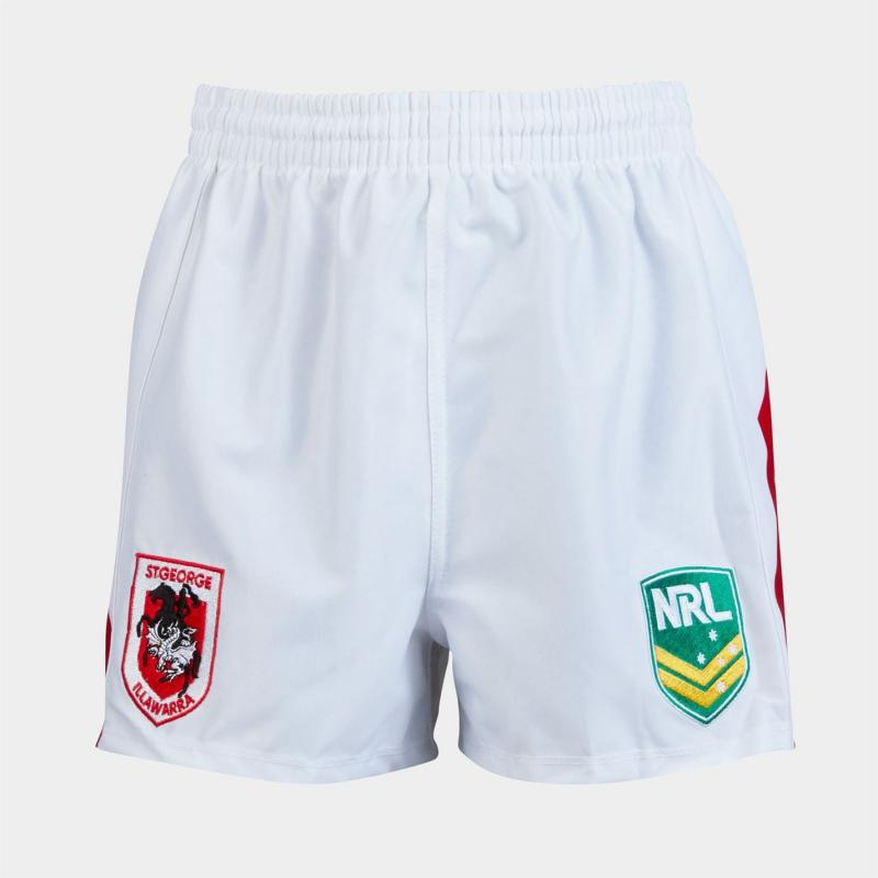 ISC St George Shrts White
