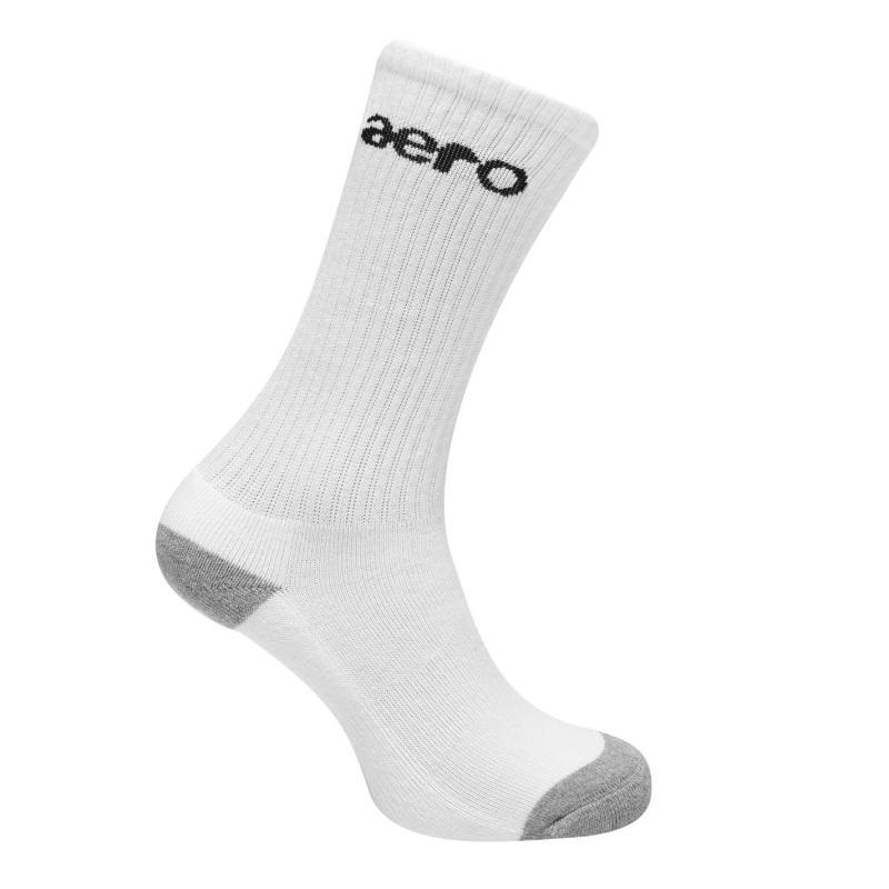Ponožky Aero Junior Crk Sk White