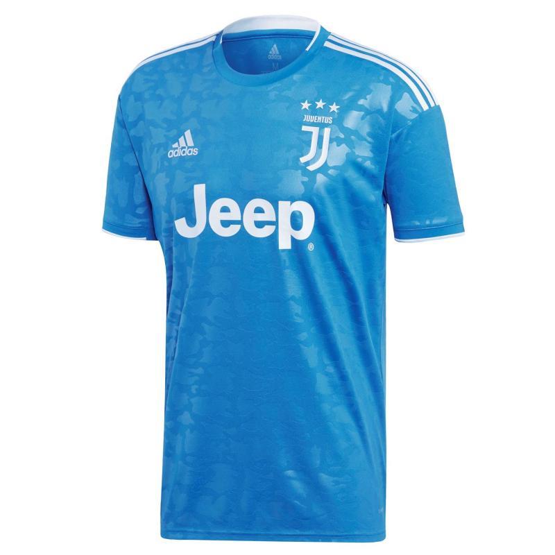 Adidas Juventus Third Shirt 2019 2020 Blue