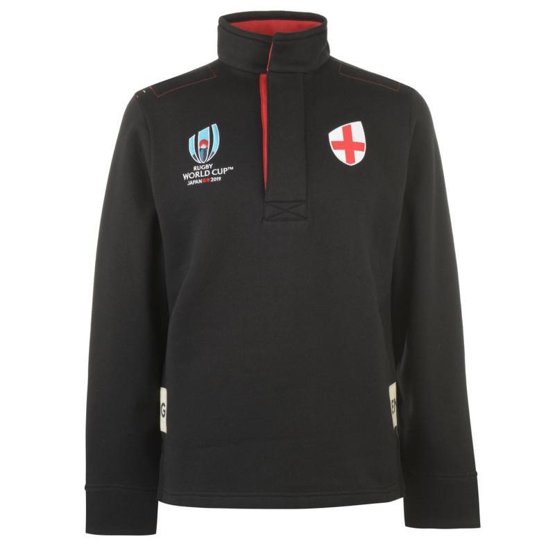 Tričko Rugby World Cup 2019 Funnel Shirt Mens Eng Black/Red