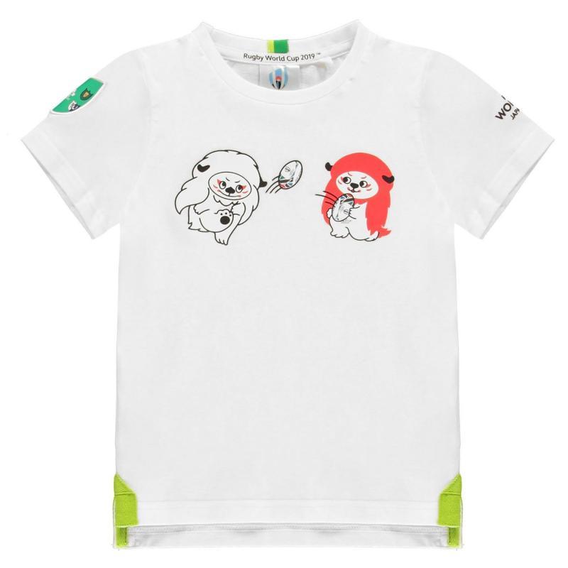 Tričko Rugby World Cup 2019 Team Cotton T Shirt Infant Boys Ireland