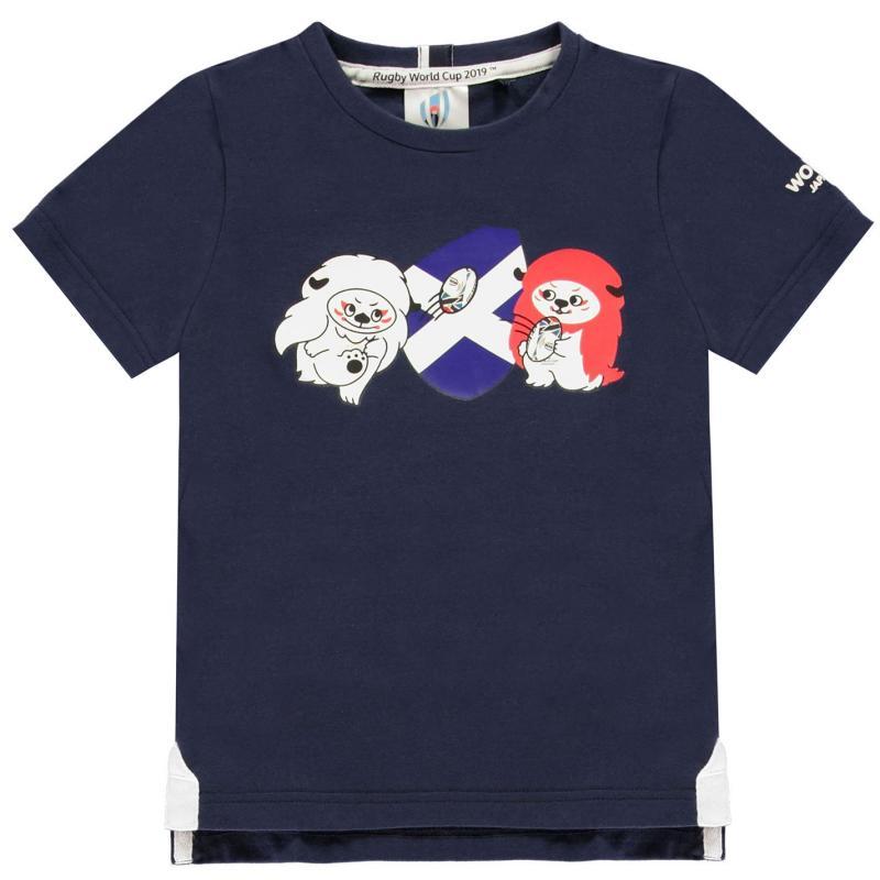 Tričko Rugby World Cup 2019 Team Cotton T Shirt Infant Boys Scotland