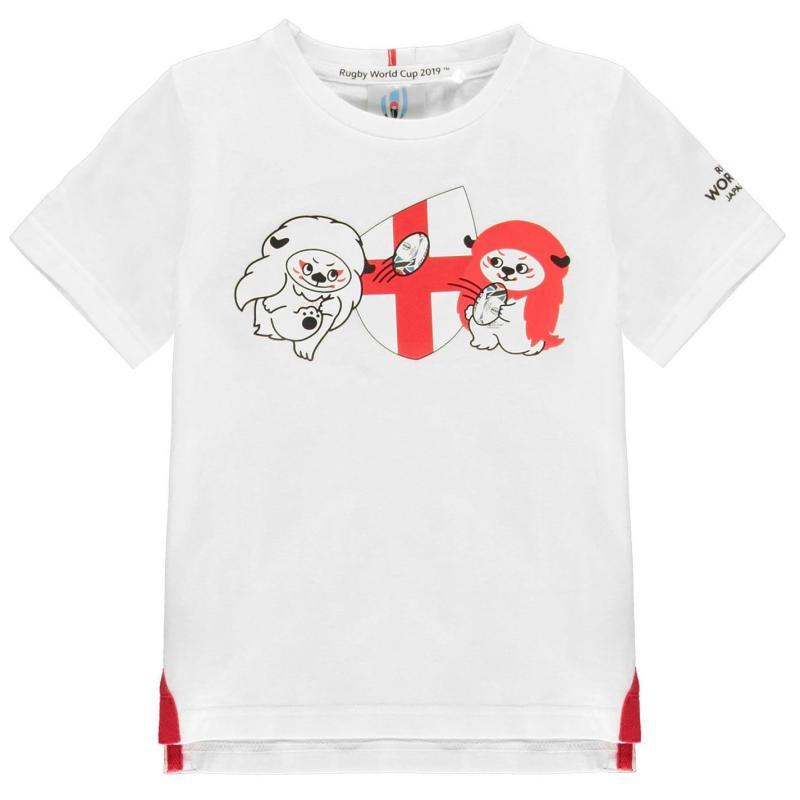Tričko Rugby World Cup 2019 Team Cotton T Shirt Infant Boys England