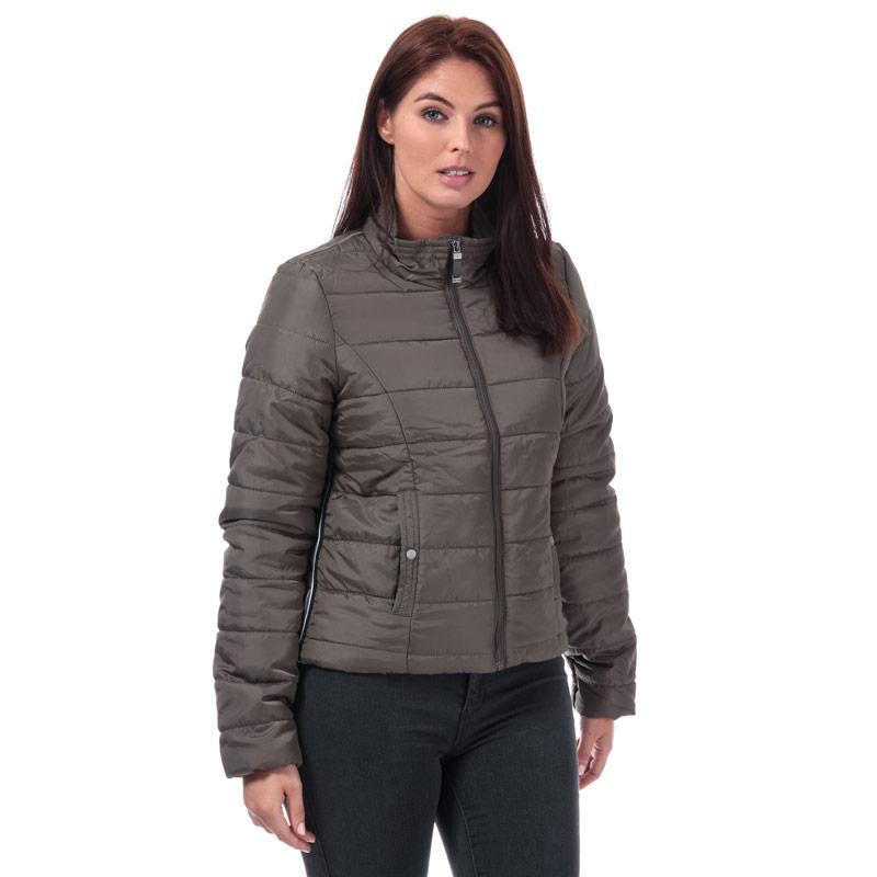 Vero Moda Womens Simone Short Jacket Khaki