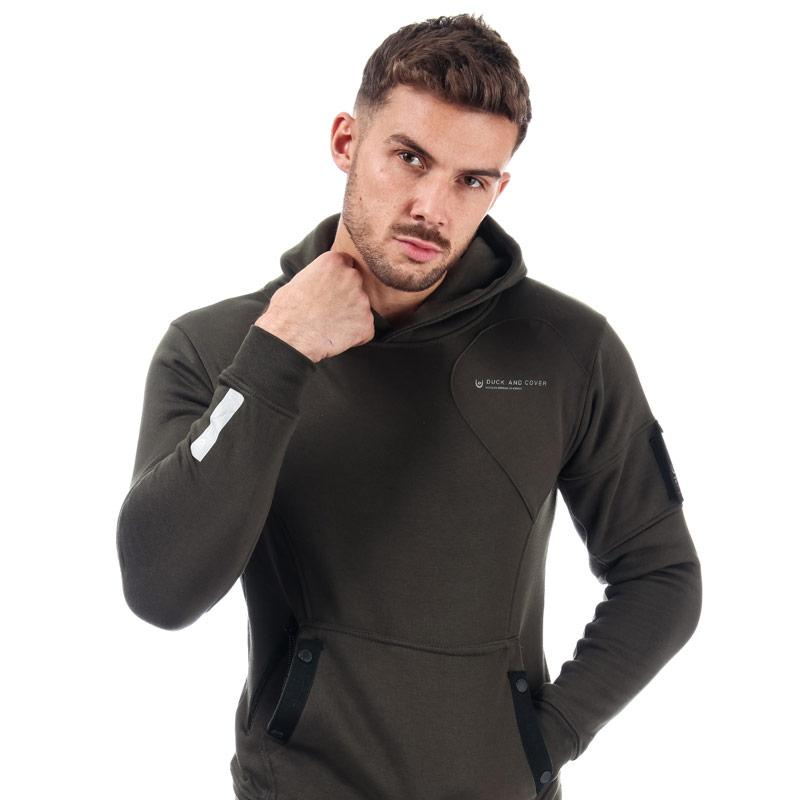 Mikina Duck And Cover Mens Granito Hoody Black