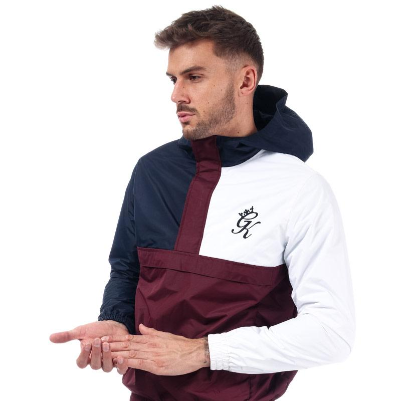 Gym King Mens Guttermouth Windbreaker navy red white