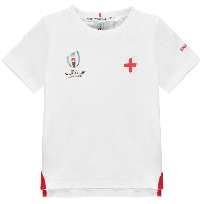 Tričko Rugby World Cup 2019 Team Cotton T Shirt Junior Boys England
