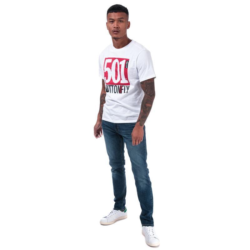 Levis Mens 512 Slim Taper Jeans Denim
