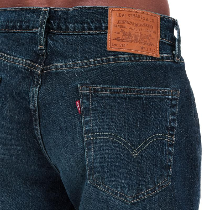 Levis Mens 514 Straight Jeans Denim