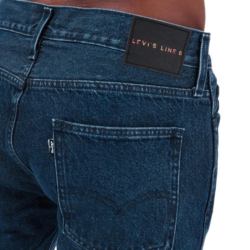 Levis Mens L8 Slim Taper Jeans Denim