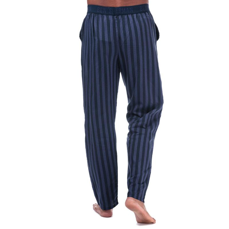 Pyžamo Ben Sherman Mens Luca Lounge Pant Navy