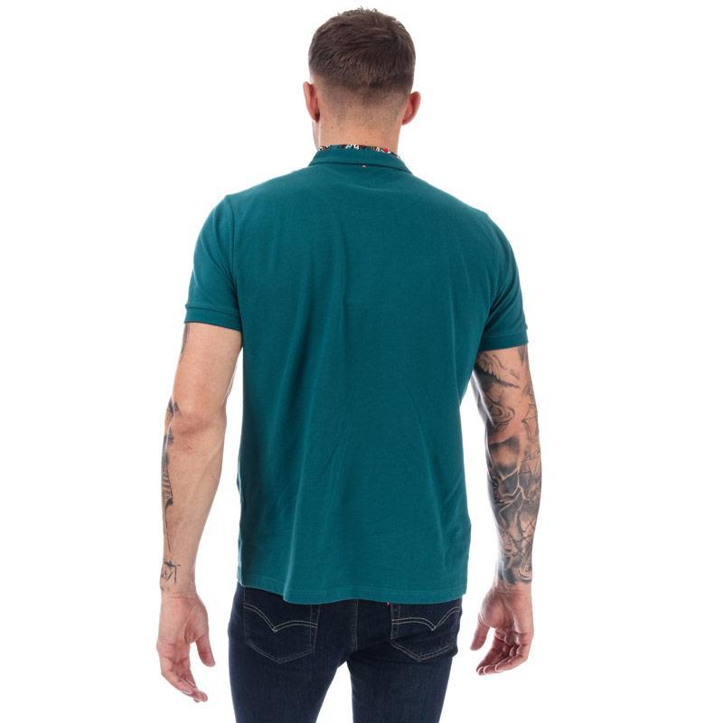 Pretty Green Mens Nightshade Carver Polo Shirt Teal