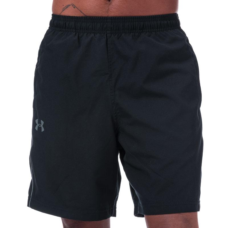 Under Armour Mens UA Woven Graphic Shorts Blue