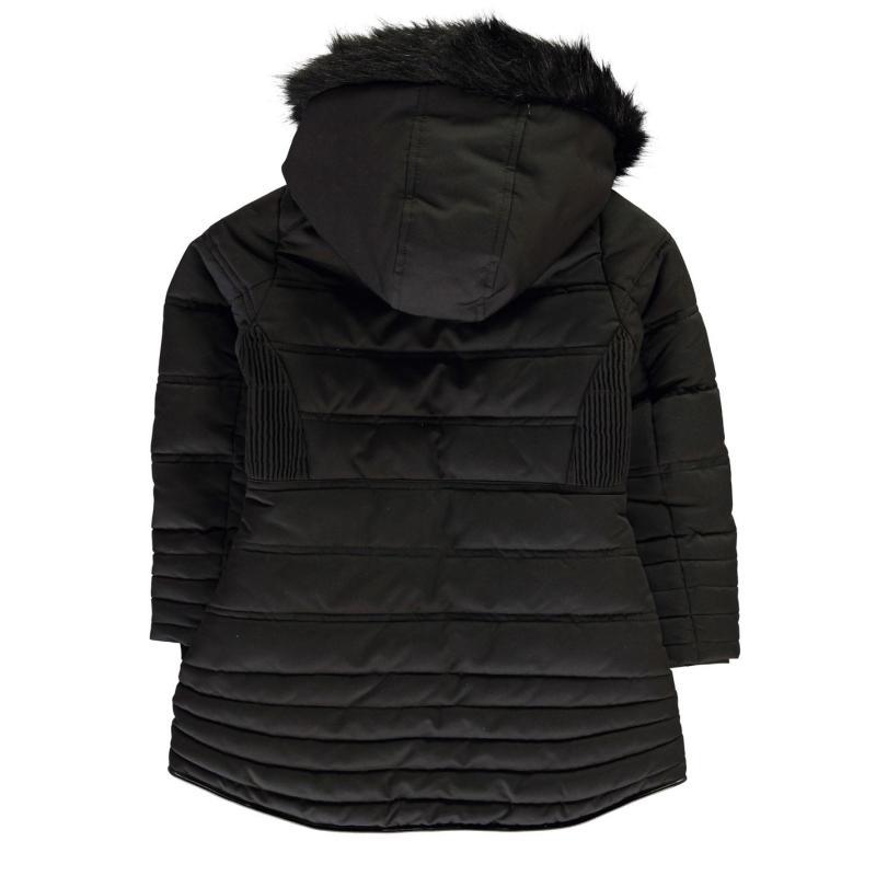 Firetrap Luxury Bubble Jacket Infant Girls Black