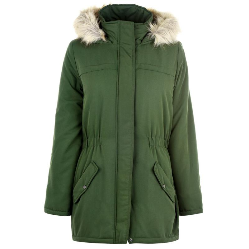 JDY Star Parker Coat Rifle Green