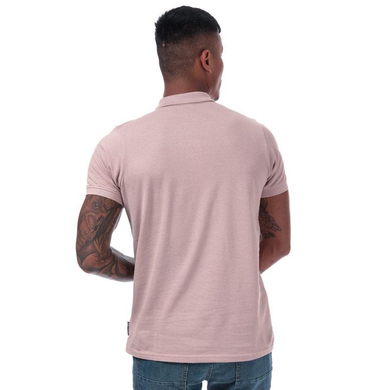Crosshatch Mens Bingera Polo Shirt Rose