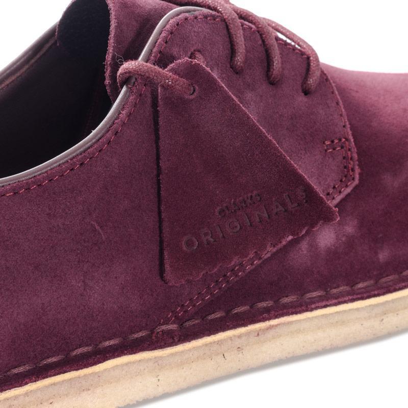 Boty Clarks Originals Mens Desert London Suede Shoes Tan