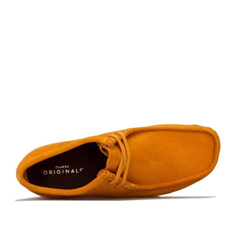 Boty Clarks Originals Mens Wallabee Shoe Green