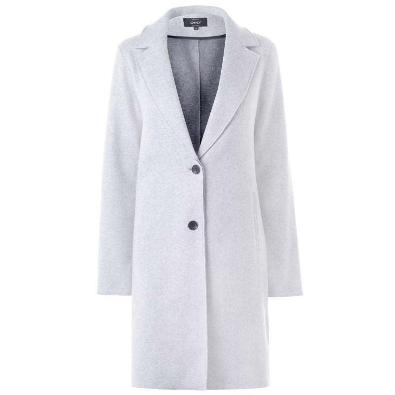 Only Bond Coat Lt Grey Melange