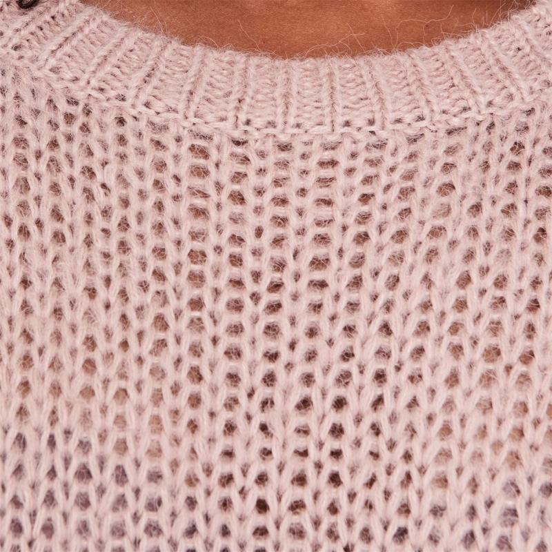 Svetr Only Carla Knit Sweater ShaddowGreyPink