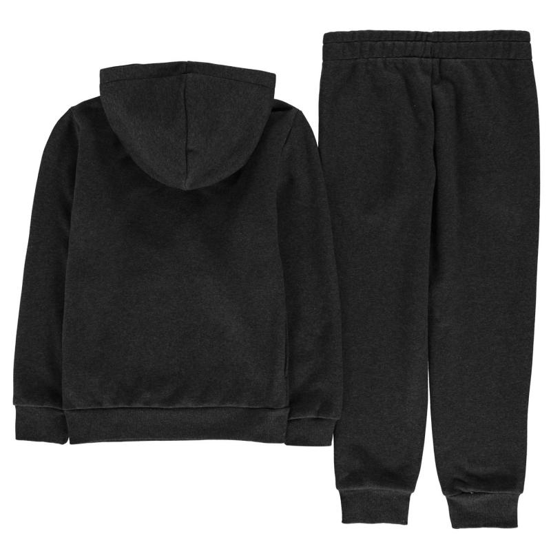 Tepláky Puma OTH Hoodie And Joggers Set Junior Boys Forest Night