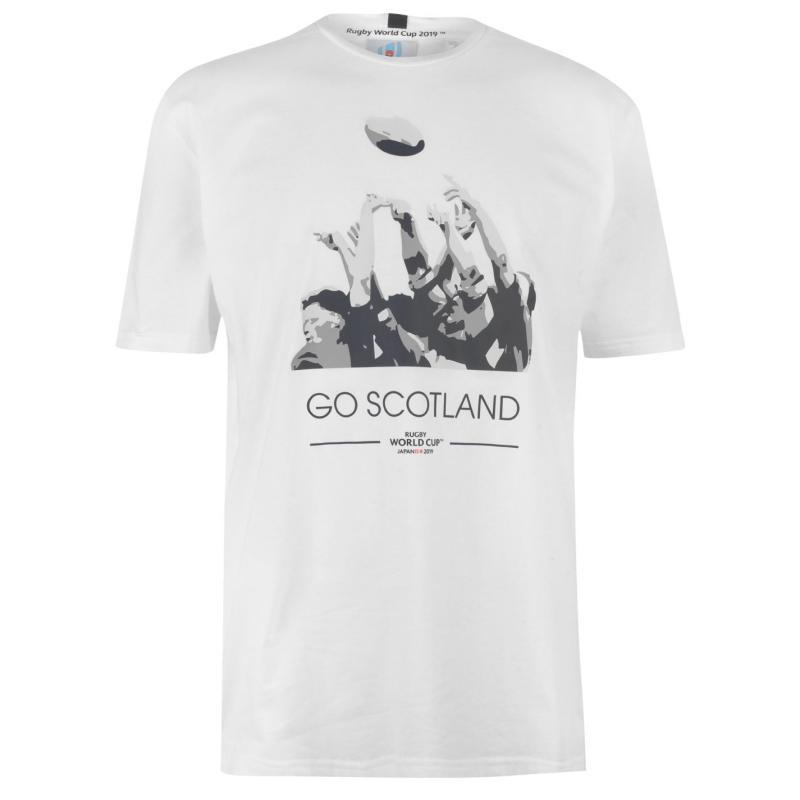 Tričko Rugby World Cup 2019 Go Team T Shirt Mens Scotland