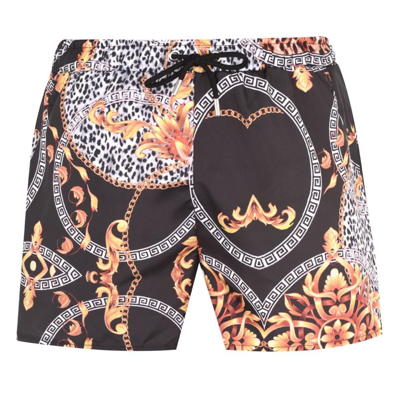 Plavky SoulCal Print Swim Shorts Mens Animal Print