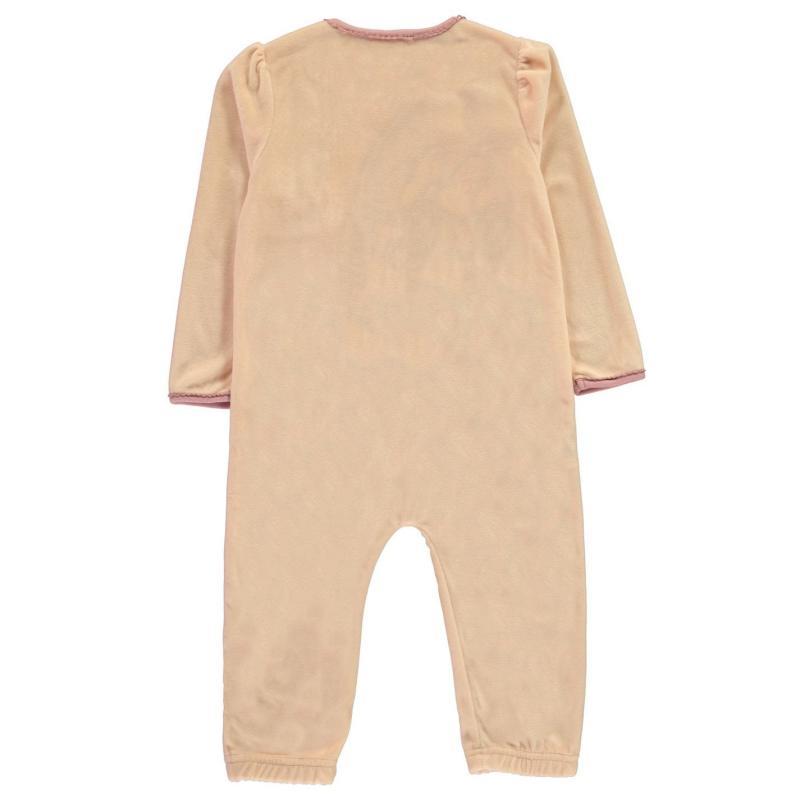 Pyžamo Character Velvet Sleepsuit Baby Minnie Mouse