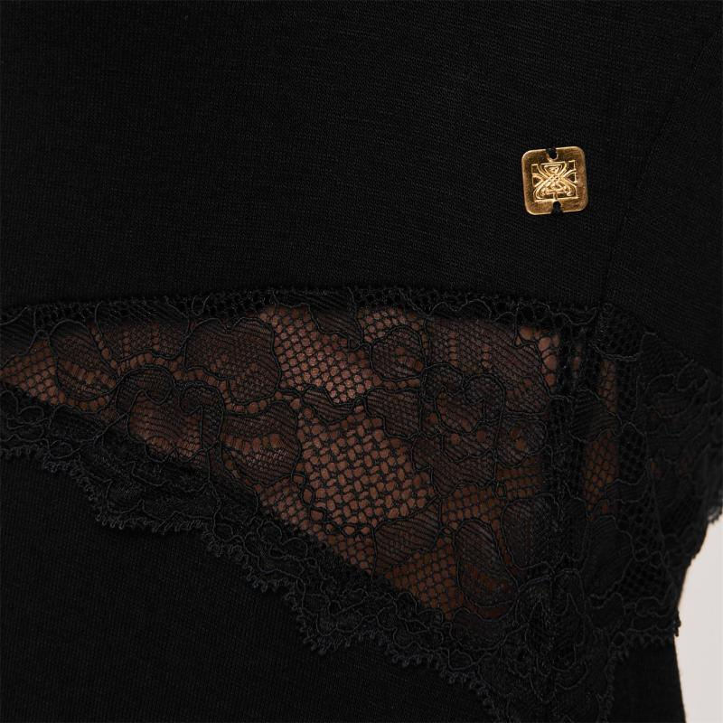 Pyžama Biba Lace Chemise Black