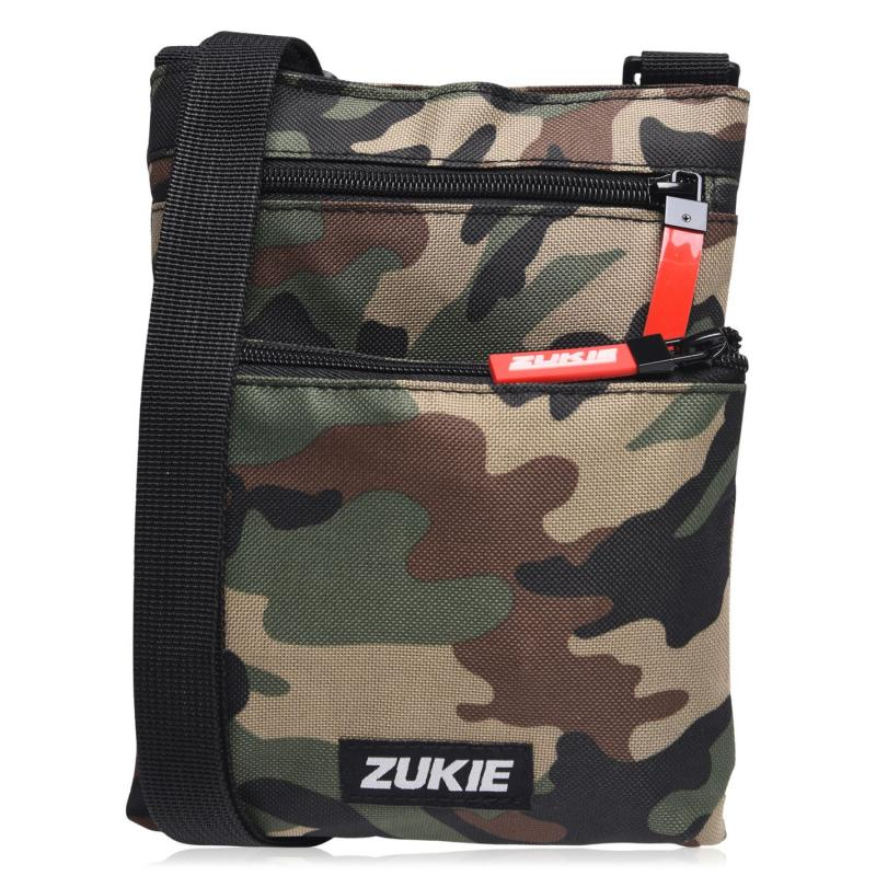 Zukie Skate Cross Body Bag Orange