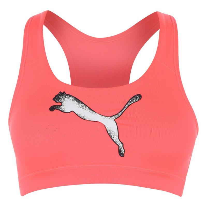 Puma Weave T Shirt Ladies Pink