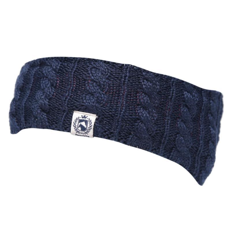 Requisite Headband Junior Girls Navy Marl