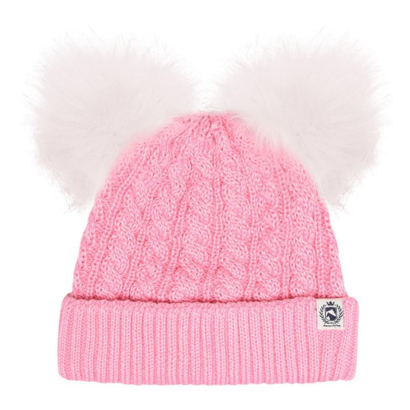 Requisite Pom-Pom Hat Junior Girls Pink