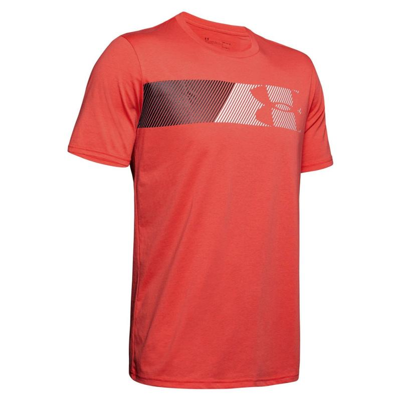 Tričko Under Armour Fast Graphic T Shirt Mens Red/Black