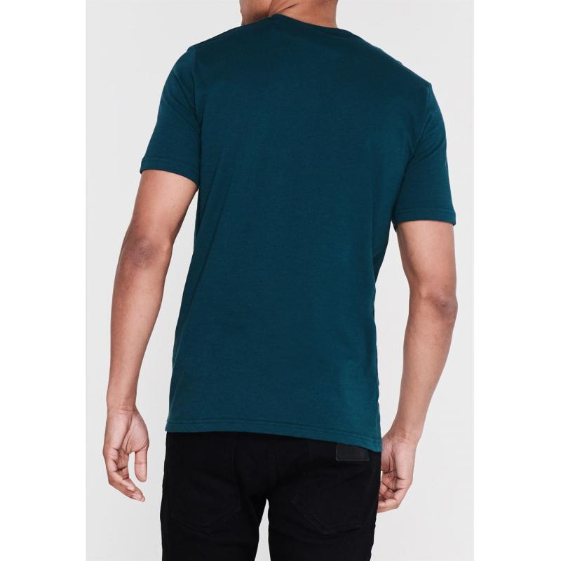 Tričko Under Armour Sportstyle Logo T Shirt Mens Bar Green