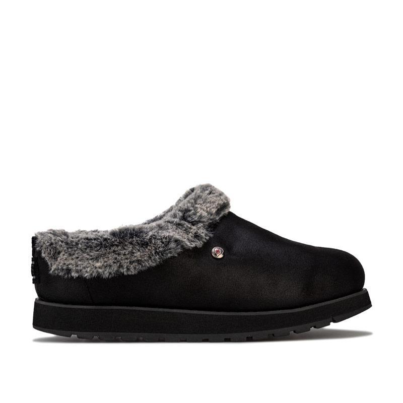 Skechers Womens Keepsakes R E M Slippers Black