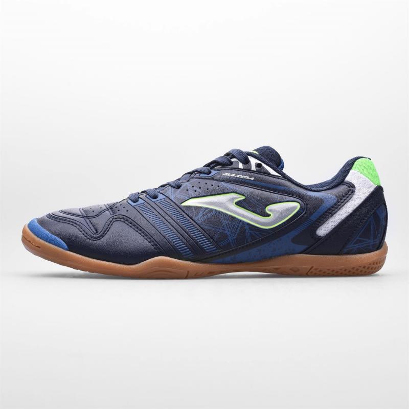 Joma Maxima Indoor Football Boots Mens Navy/Blue/White
