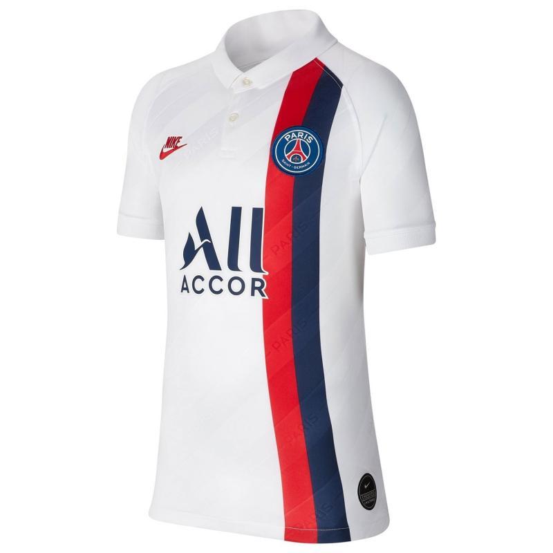 Nike Paris Saint Germain Third Shirt 2019 2020 Junior White